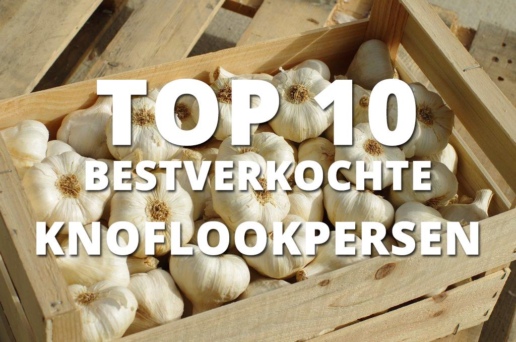 Top 10 bestverkochte knoflookpersen